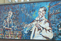 science mural