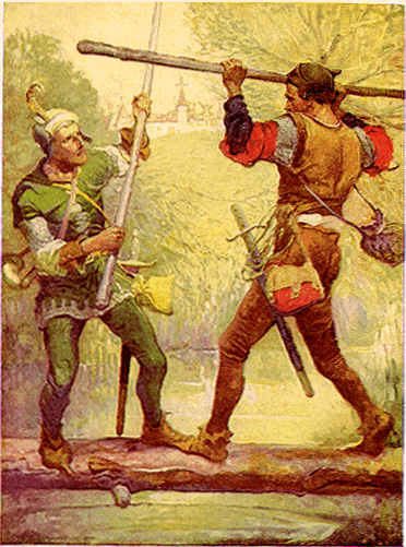 Robin_Hood_and_Little_John,_by_Louis_Rhead_1912