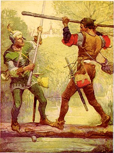 Robin_Hood_and_Little_John,_by_Louis_Rhead_1912
