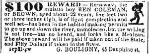 Delta-9-25-1849_Runaway_Slave_Ad