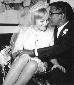 May Britt & Sammy Davis Jr